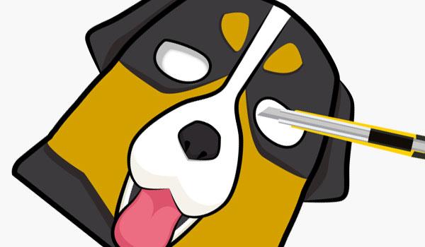 犬のお面の作り方03