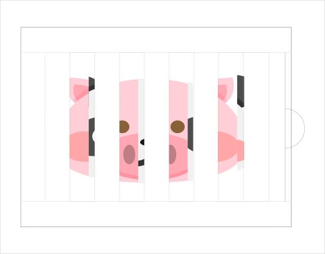 スライド変わり絵の作り方10